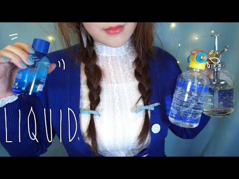 All  of  Liquid ASMR 💦💧 액체소리