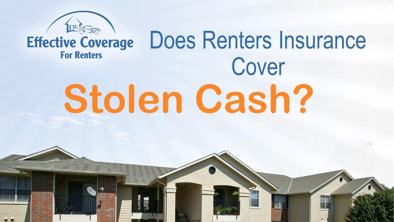 does renters insurance cover stolen cash youtube. Black Bedroom Furniture Sets. Home Design Ideas
