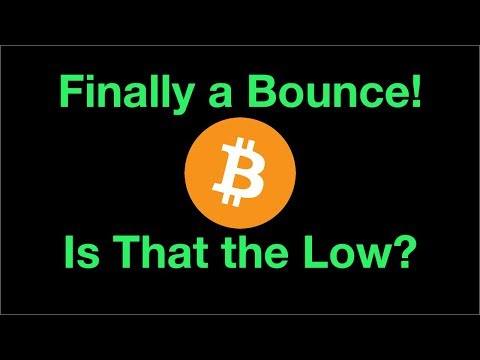 The Market Finally Finds a Low   Is that the bottom for BTC?