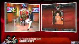 SuperXclusivo 1/18/11 - Maripily posará desnuda 1/2