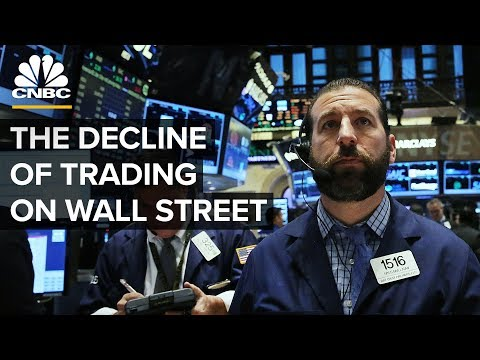 Why Wall Street Traders Are On The Decline
