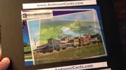 Lenticular postcards for high impact marketing and advertising