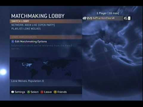 Halo 3 matchmaking Cheats dating site profiel wat te zeggen
