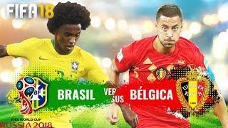 FIFA 18 World Cup Rússia DLC // Brasil x Bélgica [Quartas de Final] #05
