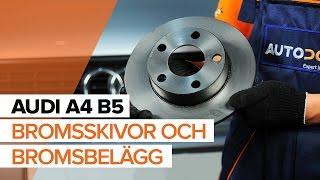 Se en videoguide om Bromsskiva byta i AUDI Q7