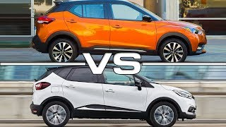 2018 Nissan Kicks vs 2018 Renault Captur
