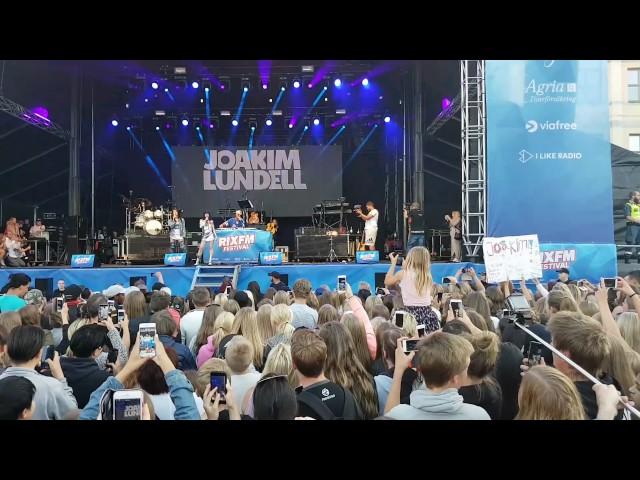 JOAKIM LUNDELL FAILAR LIVE ⏐ JOCKIBOI RixFM Festival Kristianstad