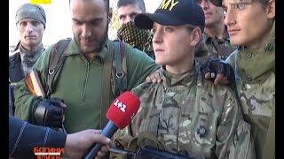 Українські сенсації. Російська дівчина воює на боці української армії.