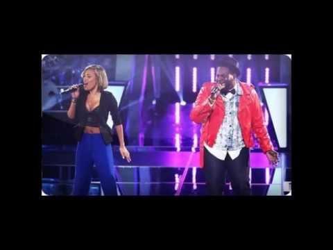 The Voice  Amanda Brown vs Trevin Hunte  Vision of Love  Audio