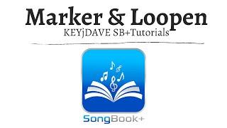 SongBook+ iOSApp - Marker, Loopen & Startpunkt verschieben -  Tutorials