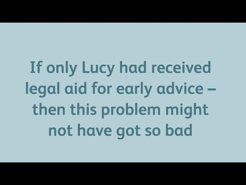Bring back legal aid for early advice by The Law Society