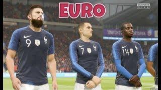 France vs Pays de Galles - Coupe d'Europe Groupe A #02 FIFA 19