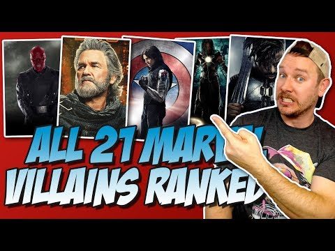 All 21 MCU Villains Ranked From Worst to Best (w/ Killmonger from Black Panther)