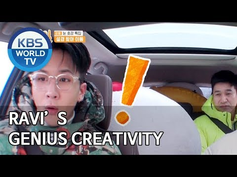 Ravi's Genius Creativity [2 Days & 1 Night Season 4/ENG/2020.03.08]