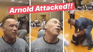 Arnold Schwarzenegger got Attacked in South Africa
