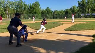 Brayden Baseball 07/18/2018: Hit (2): Seabreeze Tournament