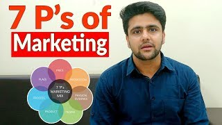 7 P's of Marketing | Marketing Mix for Services |Hindi | Marketing Course