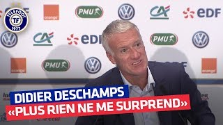 Le cas Mbappé, l'absence de Lacazette, les nouveaux - Le meilleur de la conf de Didier Deschamps
