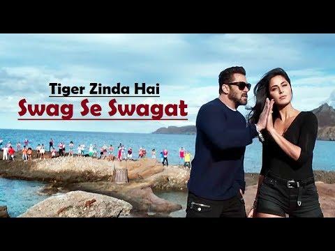 Swag Se Swagat   Tiger Zinda Hai   Salman Khan   Katrina Kaif   Lyrics   Latest Song 2017