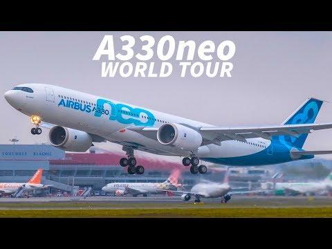 The A330neo WORLD TOUR