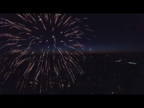 4K UHD Watertown Fireworks 070320161