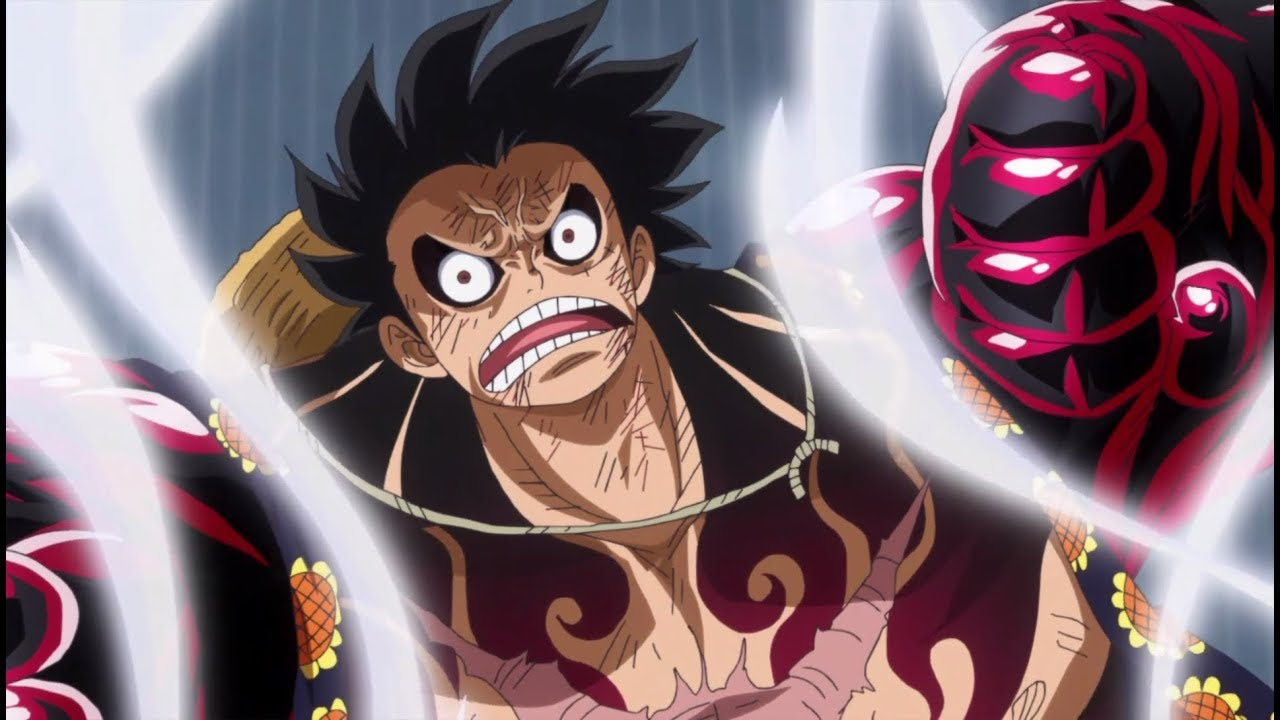 All forms of Luffy's Gear 4th | One Piece