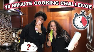 10 Minute Cooking Challenge Vs MY MOM | Who Won?