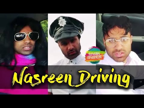 Nasreen Driving | Rahim Pardesi | Desi Tv Entertainment