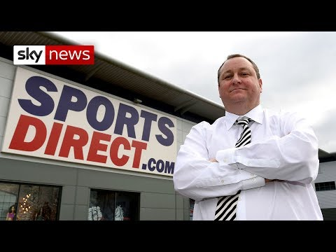 Mike Ashley on the future of the high street