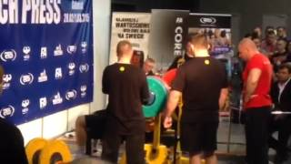 Cash Bench Press - 227,5 kg.