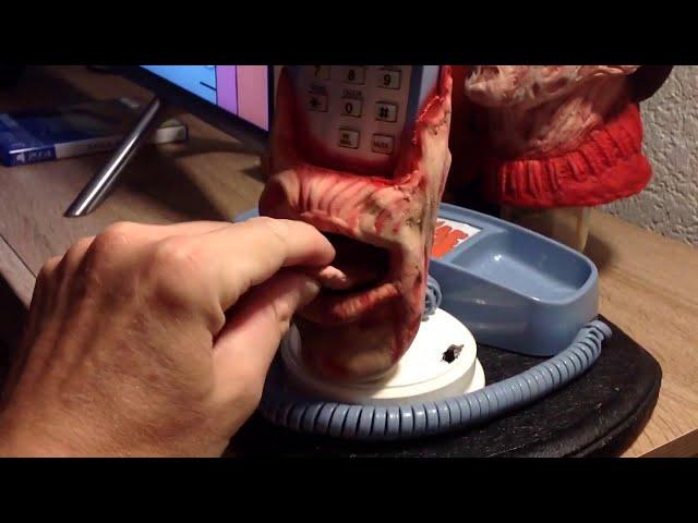 Freddy Krueger animatronique Téléphone 32691122