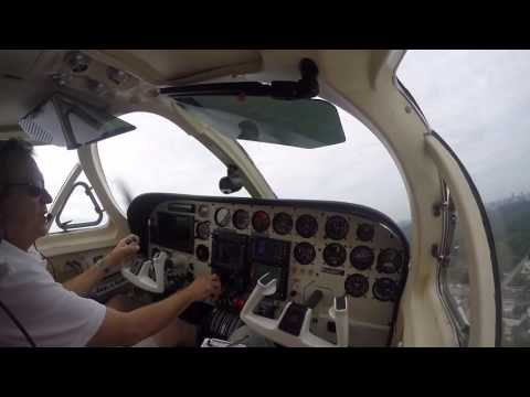 Cessna 340 KPDK to 6A2