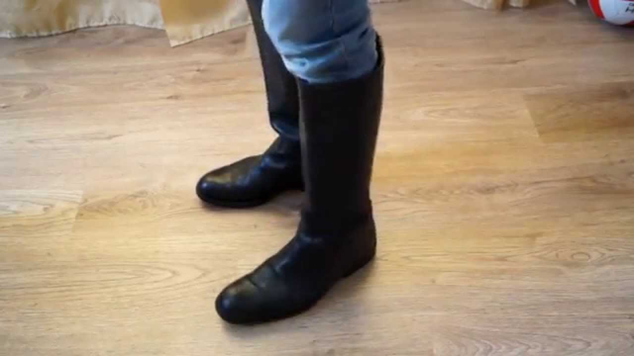 Gucci riding leather men boots FOR SALE - YouTube