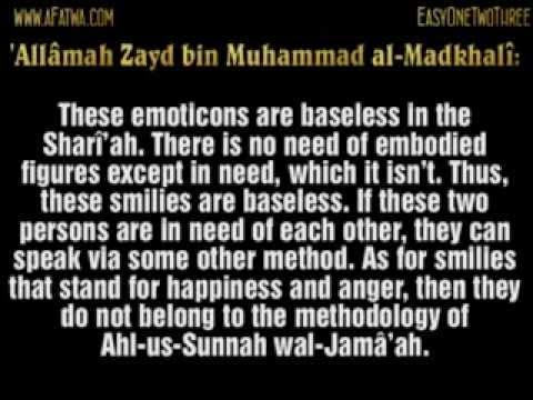 Fatwa On Using Emoticons And Chat-smilies (Msn Etc) - Shaykh Zayd Al-Madkhali