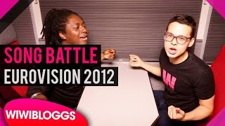 2012 Eurovision Song Contest battle on train | wiwibloggs