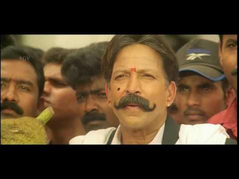 Yajamana Kannada Movie Scene | Shashi Kumar And Vishnuvardhan Sentiment Scenes