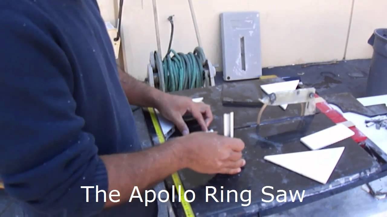 Apollo Ring Saw Demonstration Youtube