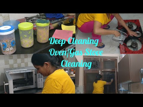 Indian Kitchen Deep Cleaning Routine/How to do Kitchen Deep Cleaning/Diwali Kitchen Cleaning