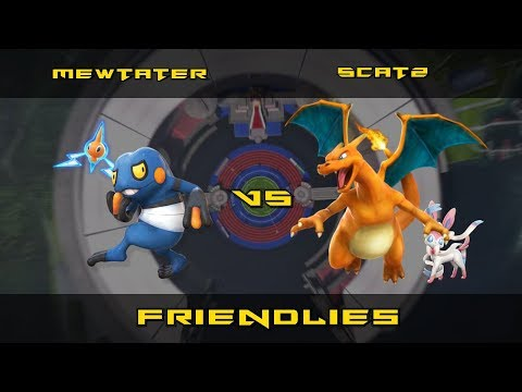 「Pokkén Tournament」Friendlies with Scatz