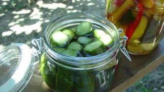 きゅうりピクルスの作り方(レシピ)03 - How To Make Cucumber Pickles.