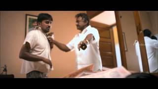 Soodhu Kavvum | Tamil Movie | Scenes | Clips | Comedy | Songs | M.S. Bhaskar beats Karunakaran