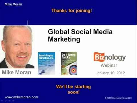 Global Social Media Marketing: Free Biznology Webinar