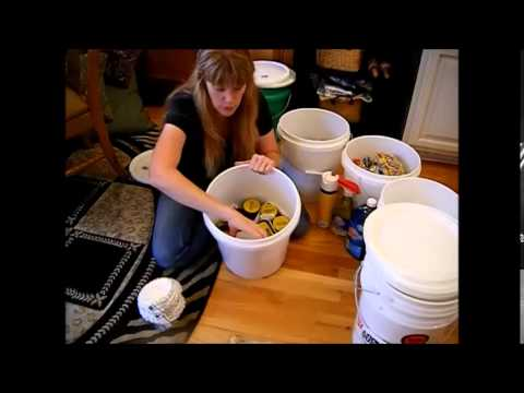 Prepper Series - How I Do Long Term Food Storage - Part One