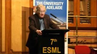 Noam Chomsky - 7th Edward Said Memorial Lecture