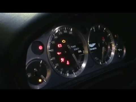 Aston Martin starting sequence