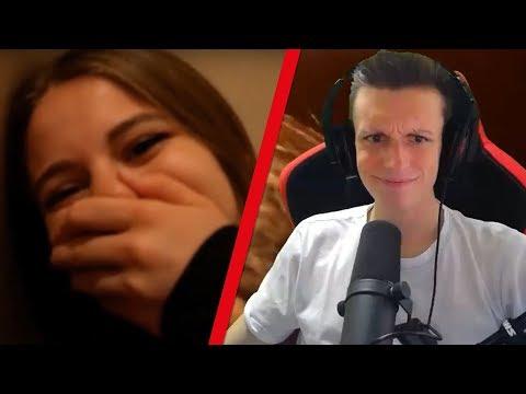 Freundin VERSTECKT sich 24 Stunden im HAUS von V Skillz   Firegoden Reaction