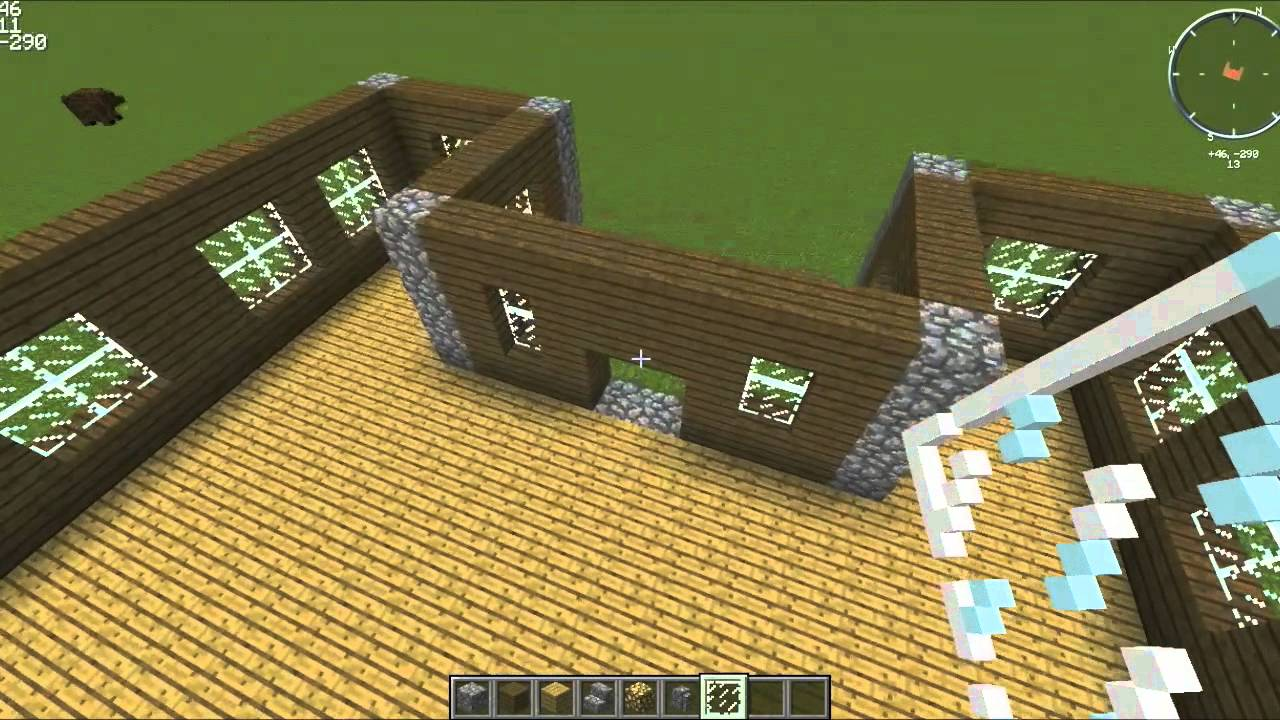 how to make a tv in minecraft easy