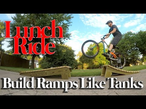 How to Build a Solid AF MTB Kicker Ramp