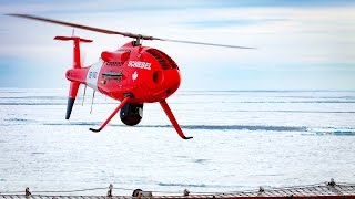 Schiebel CAMCOPTER® S-100 UAS - Maritime (Canada - Fogo Island)
