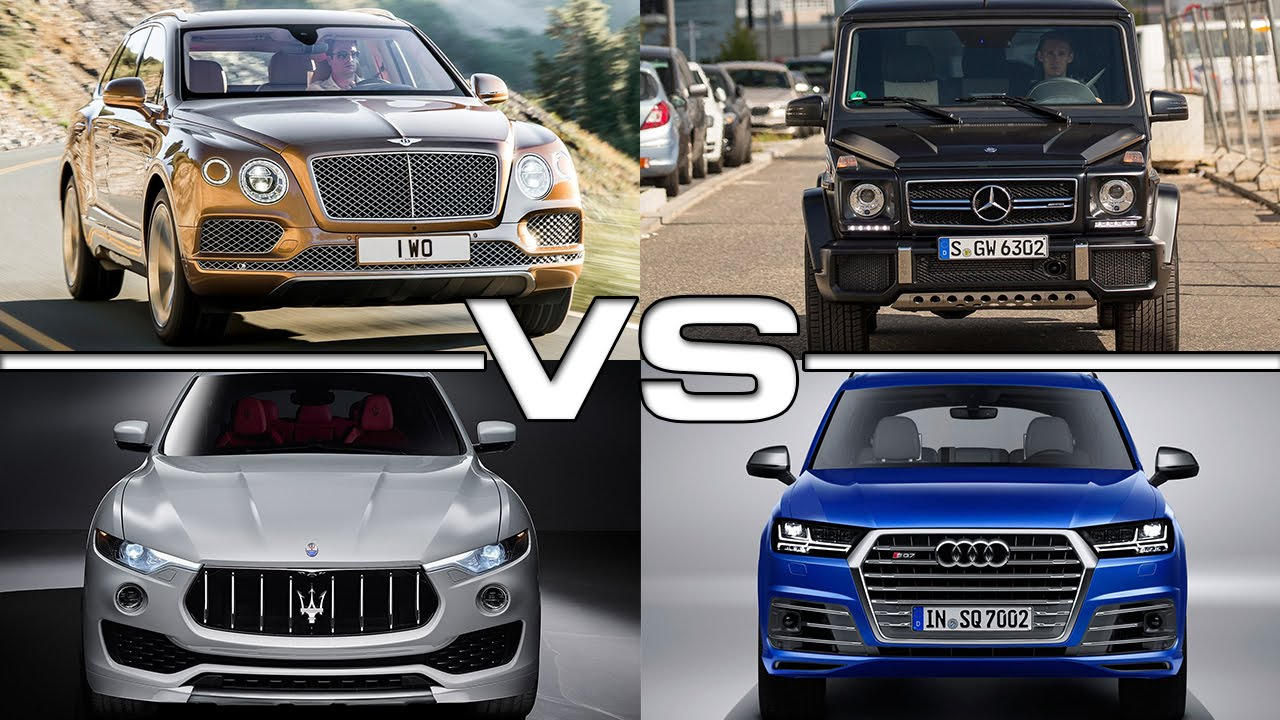Maserati levante vs bentley bentayga